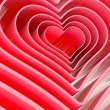 Heart shape figure abstract background — Stock Photo #49080133