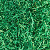 Green ribbons as grass decoration — Stock Photo