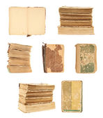 Set of old books — Stock Photo