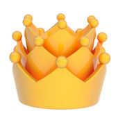 Yellow crown — Stock Photo