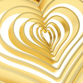 Heart shape figure abstract background — Foto Stock