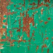 Painted green rusty metal surface — Stock Photo #51723401
