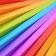 Abstract plank-shaped rainbow background — Stock Photo #51725291