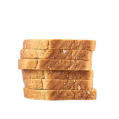 Pile of the sliced bread toasts — Stock Photo