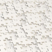 Abstract puzzle background — Stock Photo
