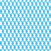 Multiple twisted blue tubes — Stock Photo