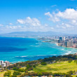 Stock Photo: Beautiful Skyline of Oahu,Hawaii