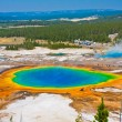 The World Famous Grand Prismatic Spring in Yellowstone National Park — Stock Photo #24405033