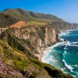 Stock Photo: Beautiful Coastline in Big Sur,California