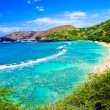 Snorkeling Bay in Oahu,Hawaii — Stock Photo