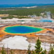 The World Famous Grand Prismatic Spring in Yellowstone National Park — Stock Photo #24407577