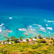 Stock Photo: Oceanfront house in Oahu,Hawaii