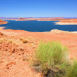 Lake Powell in USA - Stock Photo