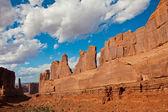 Stunning Landscape n Arches National Park,Utah,USA — Stock Photo