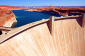 The Glen Dam in Lake Powell,Utah — Stock Photo