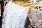 Vernal water fall in Yosemite National Park,California — Stock Photo