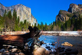 Yosemite Valley in Yosemite National Park,California — Stock Photo