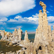 Tufa Formation in Mono Lake, California — Stock Photo