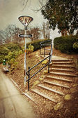 Staircase in the park — 图库照片