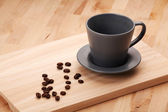Cup of coffee for breakfast — Stock Photo