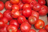 Pomodori in un mercato — Foto Stock