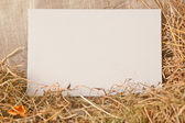 White card board — Stock Photo