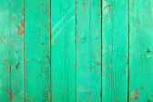 Green painted old wooden texture — Stock Photo