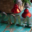 Stock Photo: New Year decoration