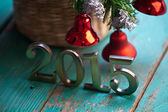 New Year decoration — Stock Photo