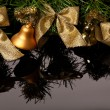 Christmas and New Year Border — Stock Photo #34746465