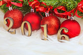New year 2016 — Foto Stock