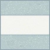 Card or frame template, art-nouveau style — Stock Vector