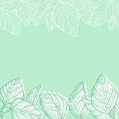 Eco vert fond en mi — Vecteur