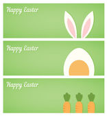 Easter banners — Vecteur