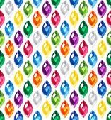 Jewel seamless pattern — Stock Vector