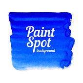 Vector illustration of artistic spot of paint — Stock Vector