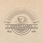 Vintage drink label — Vecteur