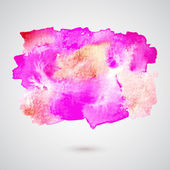 Vektor-Illustration von künstlerischen Spot Farbe — Stockvektor