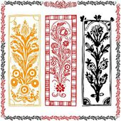 Collection motif traditionnel — Vecteur