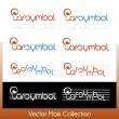 Постер, плакат: Vector symbol collection related to music and musical notes