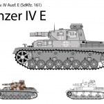 Постер, плакат: German WW2 Panzer IV E with short 75 mm L24 gun