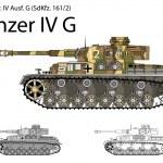 Постер, плакат: German WW2 Panzer IV G with long 75 mm L48 gun