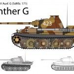 Постер, плакат: German WW2 Panther G