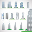 Skyscrapers — Stock Vector