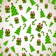 Abstract Christmas Background. Vector illustration — Stock Photo #29840039