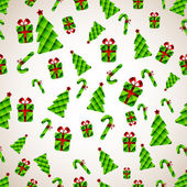 Abstract Christmas Background. Vector illustration — Stock Photo