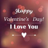 Happy Valentine's Day Design. — Stock Vector
