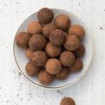 Chocolate truffles — Stock Photo #41321347