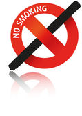 No Smoking — Stock Vector