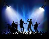 Rock concert — Stock Vector